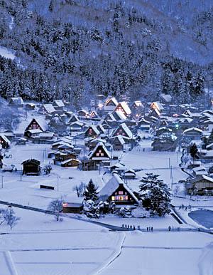 奧飛驒冬季點燈秀