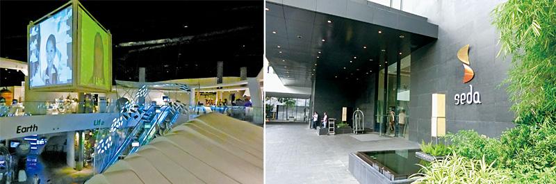 [左圖]馬尼拉科博館Mind Museum。[右圖]Seda Hotel