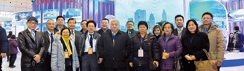 台灣業者參與第11屆中國新疆冬季旅遊產業交易博覽會,進行考察交流。