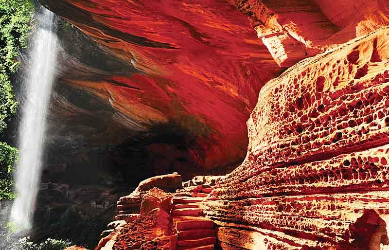 丹霞地貌世界自然遺產