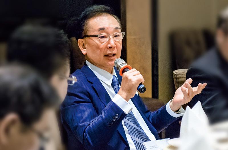董事長兼發行人-椎原正浩